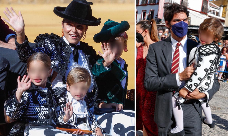 Carmen, Curro y Cayetano Jr. Rivera, los otros grandes protagonistas de la corrida Goyesca