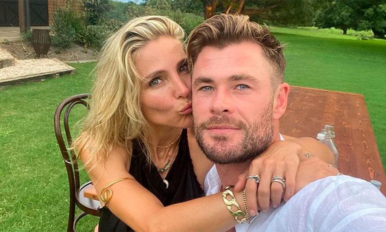 Elsa Pataky rescata la foto más divertida de Chris Hemsworth con sus hijos