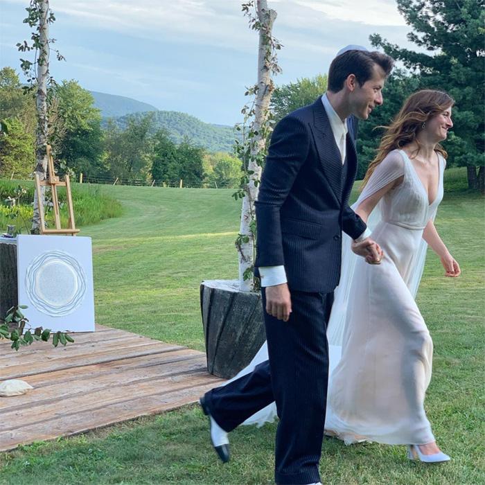 Grace Gummer, daughter of Meryl Streep, has married Mark Ronson