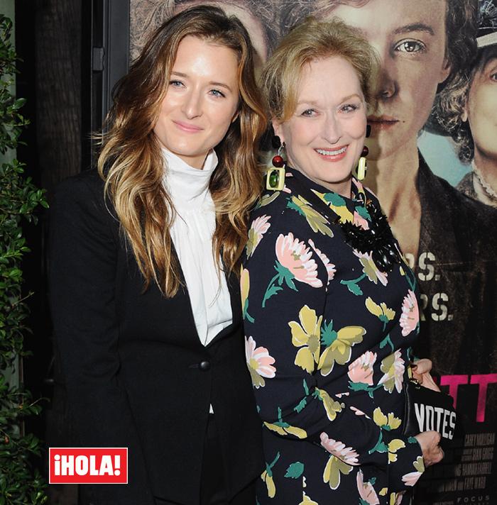 Meryl Streep and her daughter, Grace Gummer