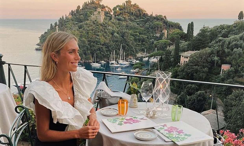 Lucía Bárcena comparte su álbum de fotos de su romántica y mágica luna de miel en Portofino