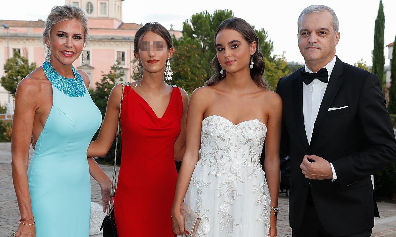 Ramón García y Patricia Cerezo, unidos tras su divorcio en la puesta de largo de su hija Natalia