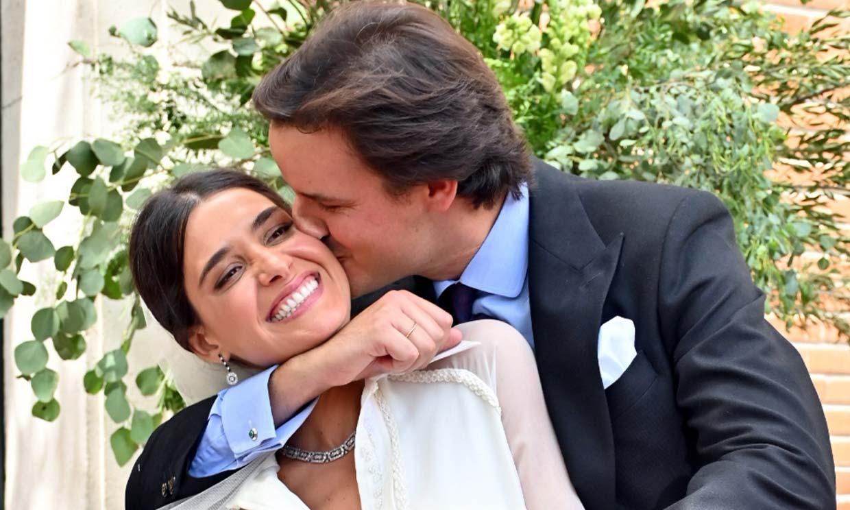 Inés Domecq y María García de Jaime, entre los invitados a la boda de la diseñadora Lucía Martín Alcalde