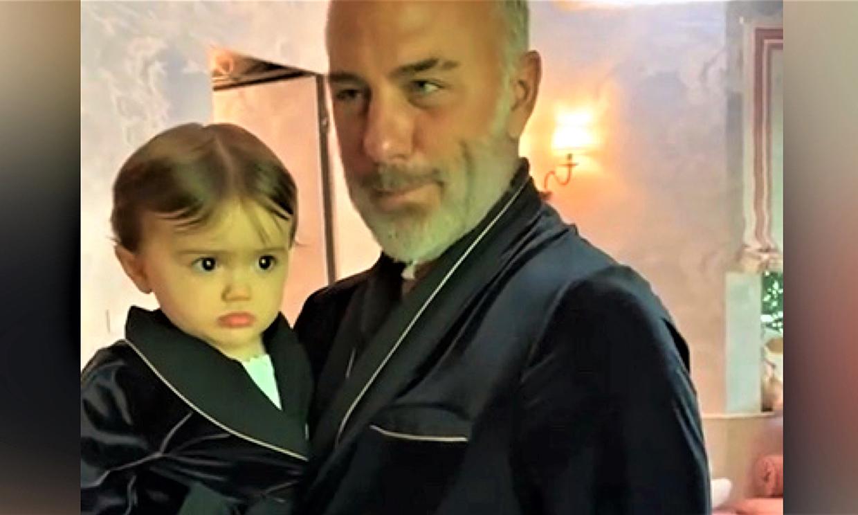 'Mi vida se convirtió en un sueño contigo': el vídeo más tierno de Gianluca Vacchi y su hija Blu Jerusalema