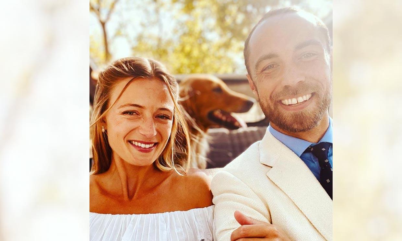 James Middleton se casa con Alizée Thevenet en una íntima ceremonia en la Costa Azul francesa