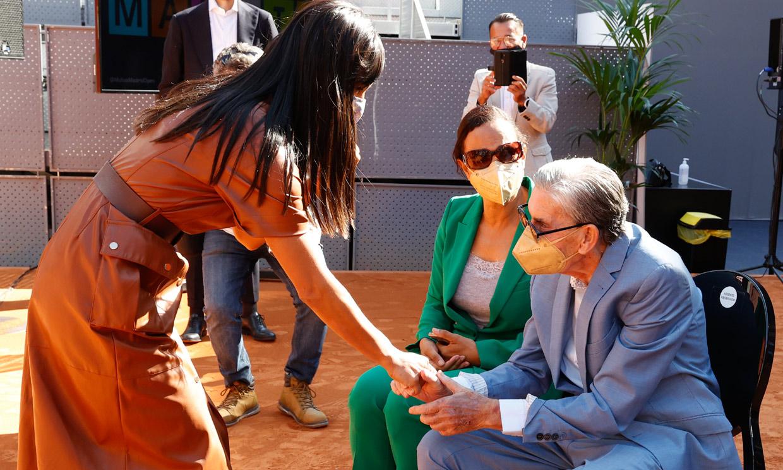 Manolo Santana regresa a la vida pública en un acto lleno de significado para él
