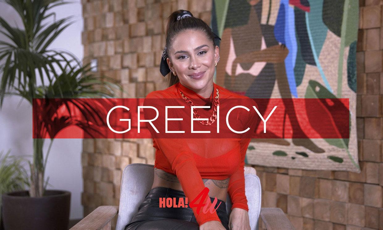De un 'talent show' a cantar con Alejandro Sanz: hablamos con Greeicy, la estrella latina del momento