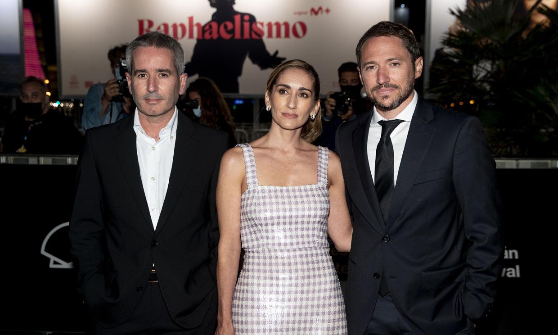 Jacobo, Alejandra y Manuel Martos no se pierden la gran noche de su padre, el cantante Raphael