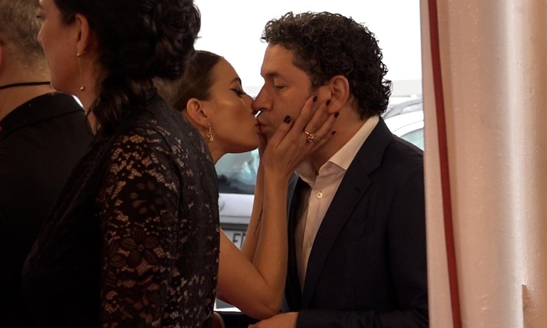 María Valverde y Gustavo Dudamel, dos enamorados en San Sebastián