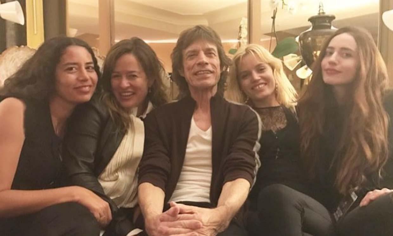 No te pierdas el gran parecido del hijo de 4 años de Mick Jagger con su padre, ¡es un 'mini Rolling'!
