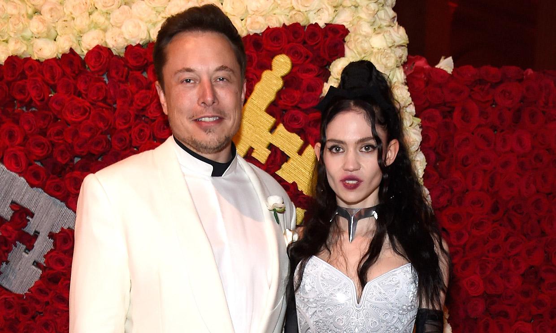 Elon Musk y Grimes se han 'semiseparado' después de tres años de relación