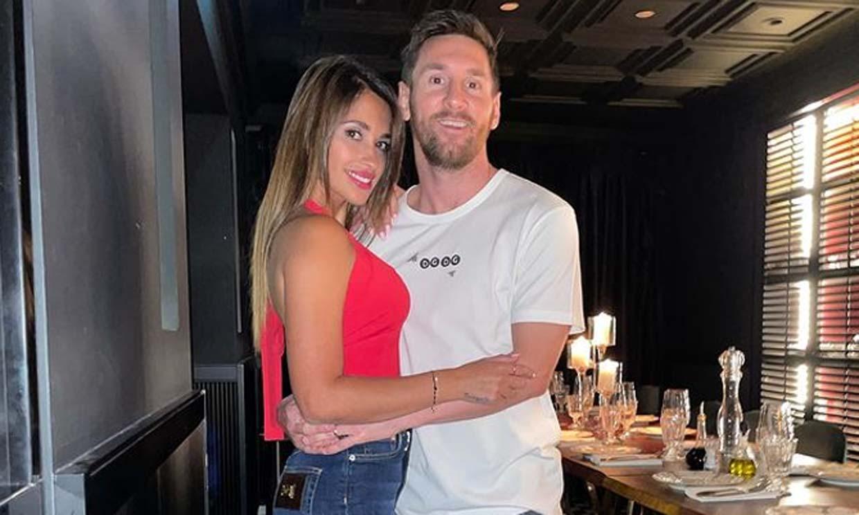 La divertida coreografía de Leo Messi y Antonela Roccuzzo tras disfrutar de una romántica cena en París