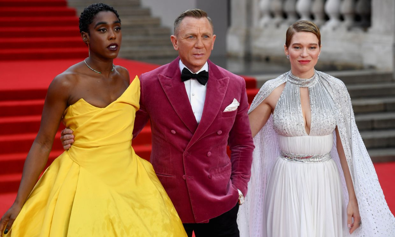 Londres se viste de gala para el último James Bond de Daniel Craig