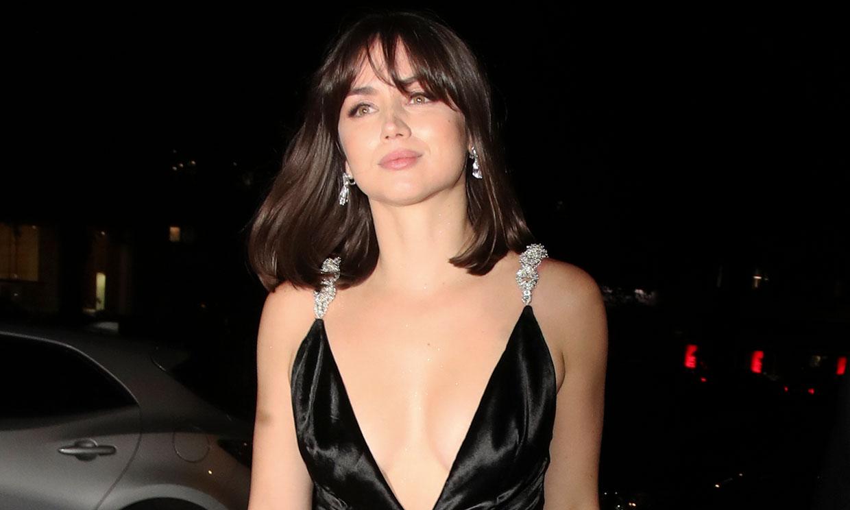 Ana de Armas junto a su nuevo amor en la fiesta posterior al estreno de la nueva película de James Bond