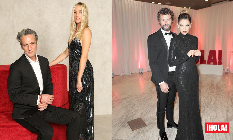 ¡Viva el amor! De Juana Acosta a Ernesto Alterio, las estrellas del cine posan con sus parejas en la sala ¡HOLA!