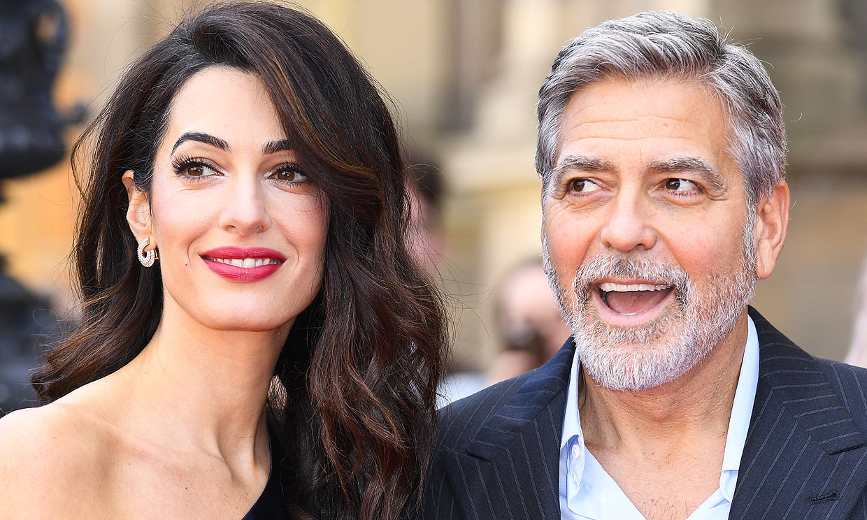 Amal Clooney confiesa qué película de George Clooney no ha visto ¡porque el actor no quiere!