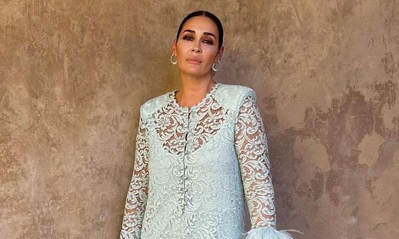 La elegancia de Vicky Martín Berrocal, la invitada española en la boda de Lapo Elkann