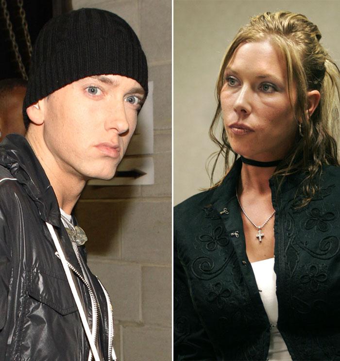 Eminem y Kimberly Scott
