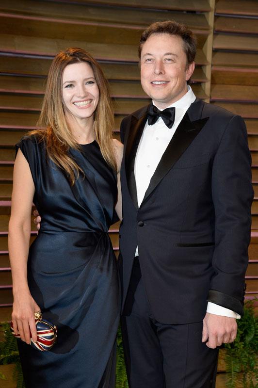 Elon Musk y Talulah Riley