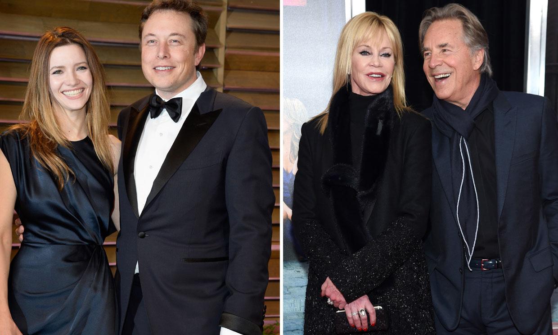 Desde el multimillonario Elon Musk hasta Melanie Griffith: estas son algunas de las parejas que se casaron dos veces con la misma persona
