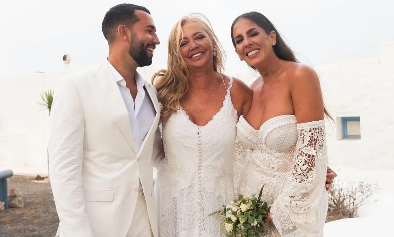 Belén Esteban abre su álbum personal para mostrar nuevas imágenes de la boda de Anabel Pantoja
