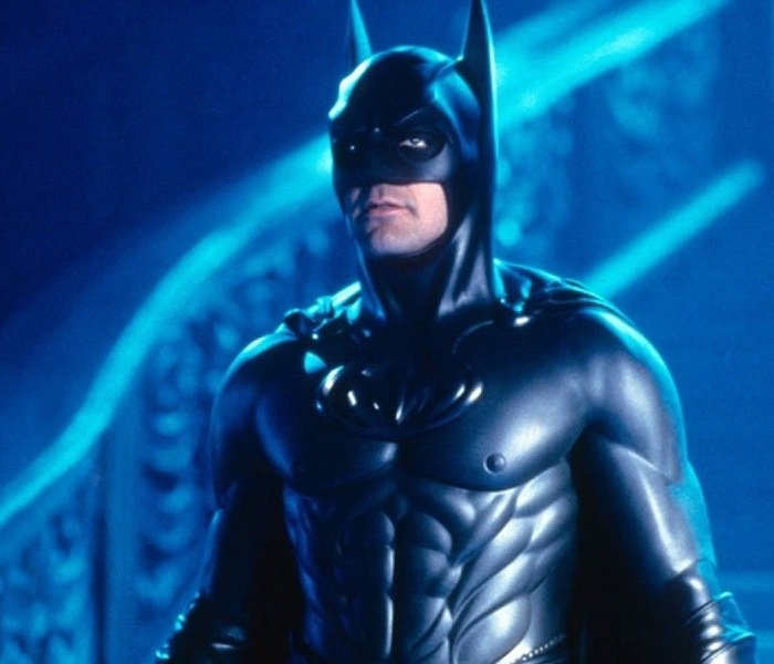 George Clooney playing Batman