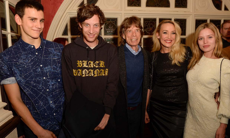 ¿Quiénes son y a qué se dedican los ocho hijos de Mick Jagger?