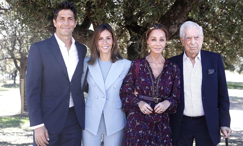 ¡Triple celebración! Isabel Preysler, Ana Boyer y Tamara Falcó no faltan a la gran fiesta de Mario Vargas Llosa