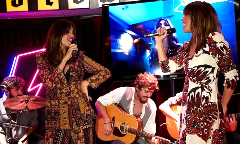 Sara Carbonero e Isabel Jiménez, como dos estrellas sobre el escenario en una noche inolvidable