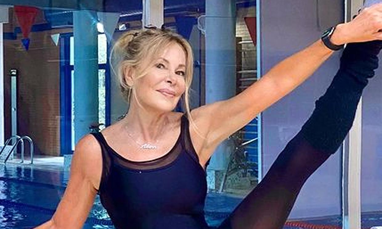 ¡En plena forma! El duro entrenamiento de Ana Obregón para su aparición televisiva en Nochebuena