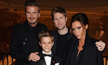 Romeo Beckham pisa con fuerza en el mundo de la moda