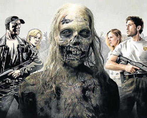 Los zombis invaden el Saló del Còmic