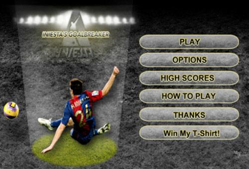 Iniesta ya tiene su propio videojuego
