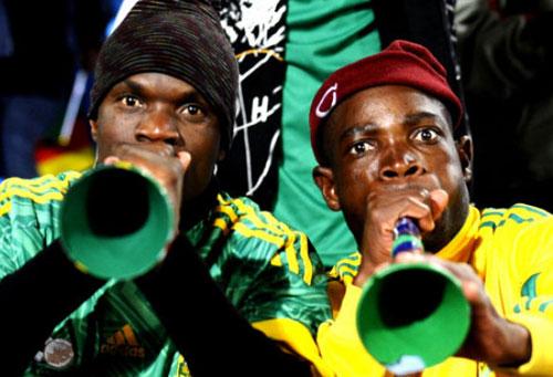 Las vuvuzelas pueden transmitir enfermedades