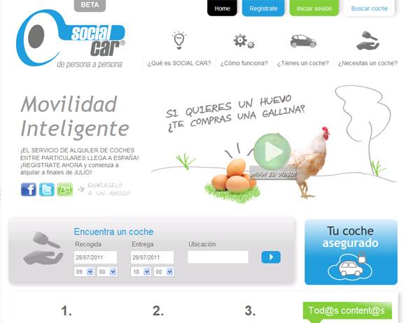 Llega a España el alquiler de coches entre particulares