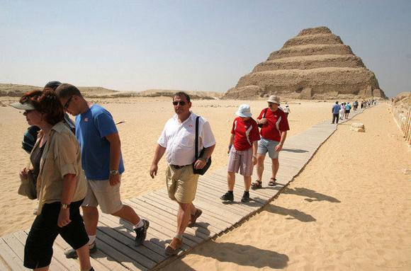 La falta de turistas pone en peligro la pirámide más antigua