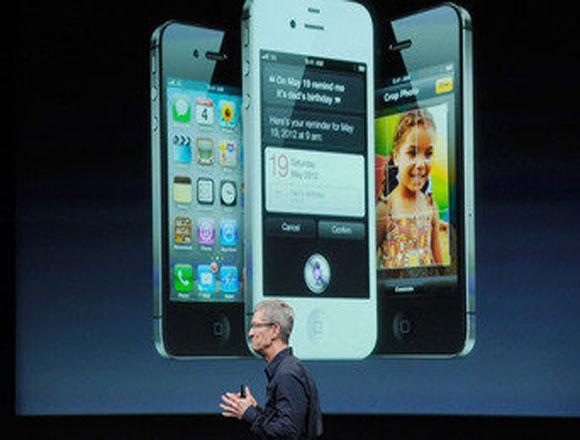 Apple se limita a presentar el nuevo iPhone 4S