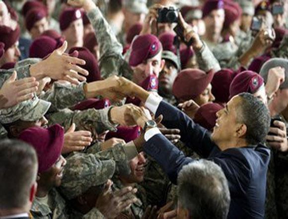 Los soldados regresan a EE.UU. de su misión de Iraq