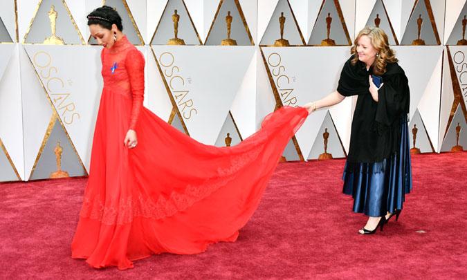 Despliegue De Glamour En La Alfombra Roja De Los Oscar 2017 Foto 1