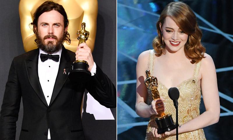 Se confirman los pronósticos con Emma Stone y Casey Affleck