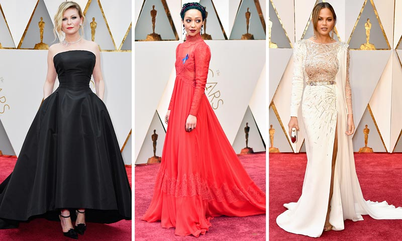 Nuestros favoritos son... ¡Entregamos los Oscar a los mejores 'looks'!
