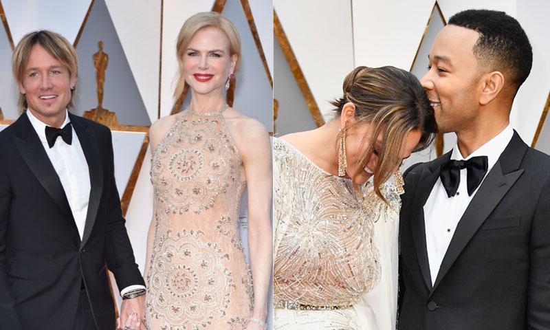 Pensábamos que lo habíamos visto todo pero no...Chrissy Teigen se durmió en la gala y Nicole Kidman sorprende con sus extraños aplausos