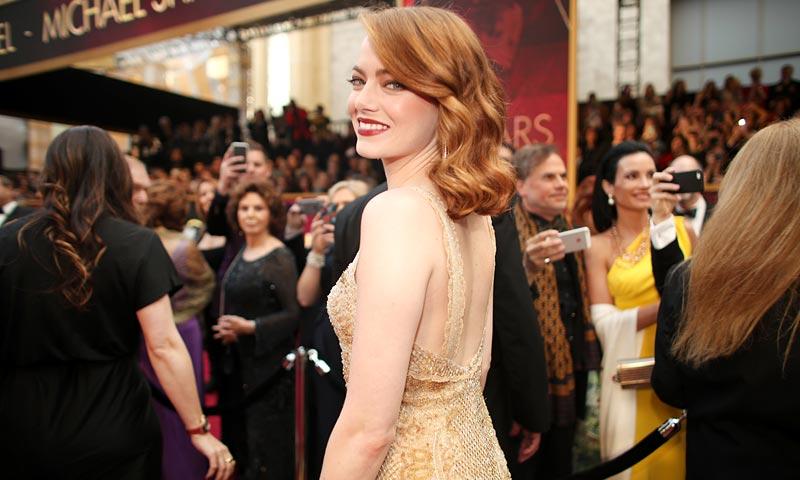 Emma Stone no sólo consigue el Oscar como 'mejor actriz', sino también el premio como...
