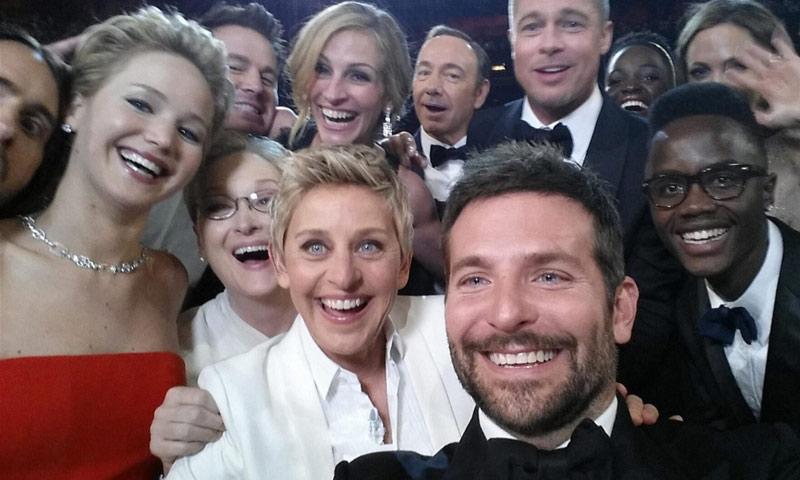 ¿Recuerdas el 'selfie' más famoso de los Oscar? Así han cambiado las vidas de sus protagonistas