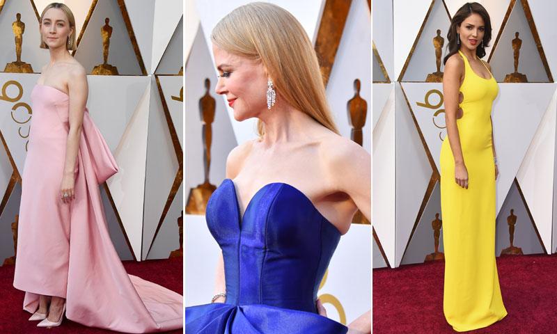Los escotes más impactantes y otras 6 decisiones de moda que conquistaron la alfombra roja