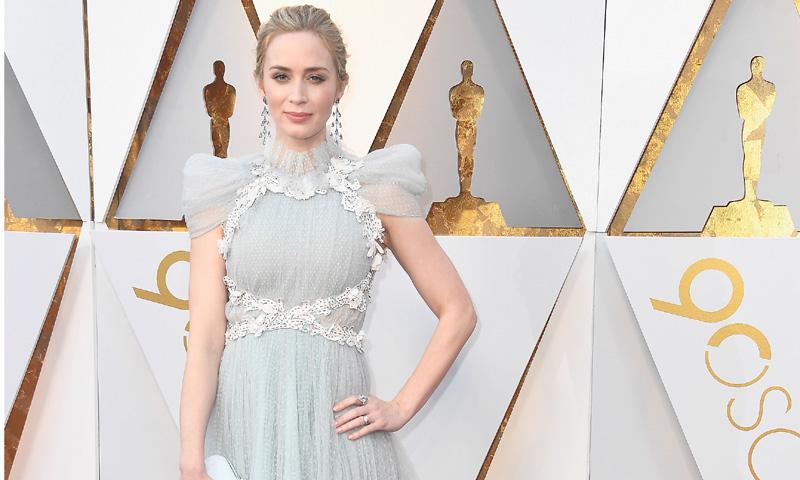La noche en que Emily Blunt se inspiró en Cate Blanchett para elegir su vestido