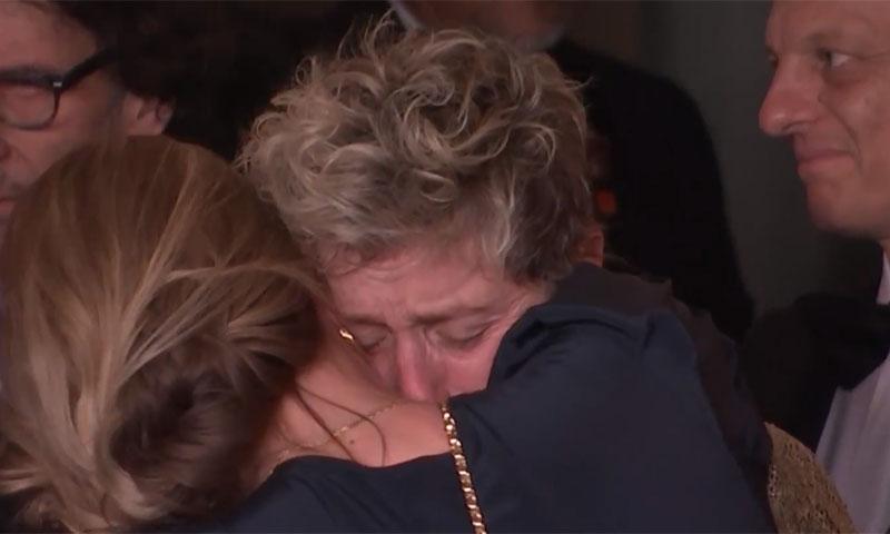 Oscar 2018: Abrazos, lágrimas, risas... La emoción de los ganadores tras la ceremonia