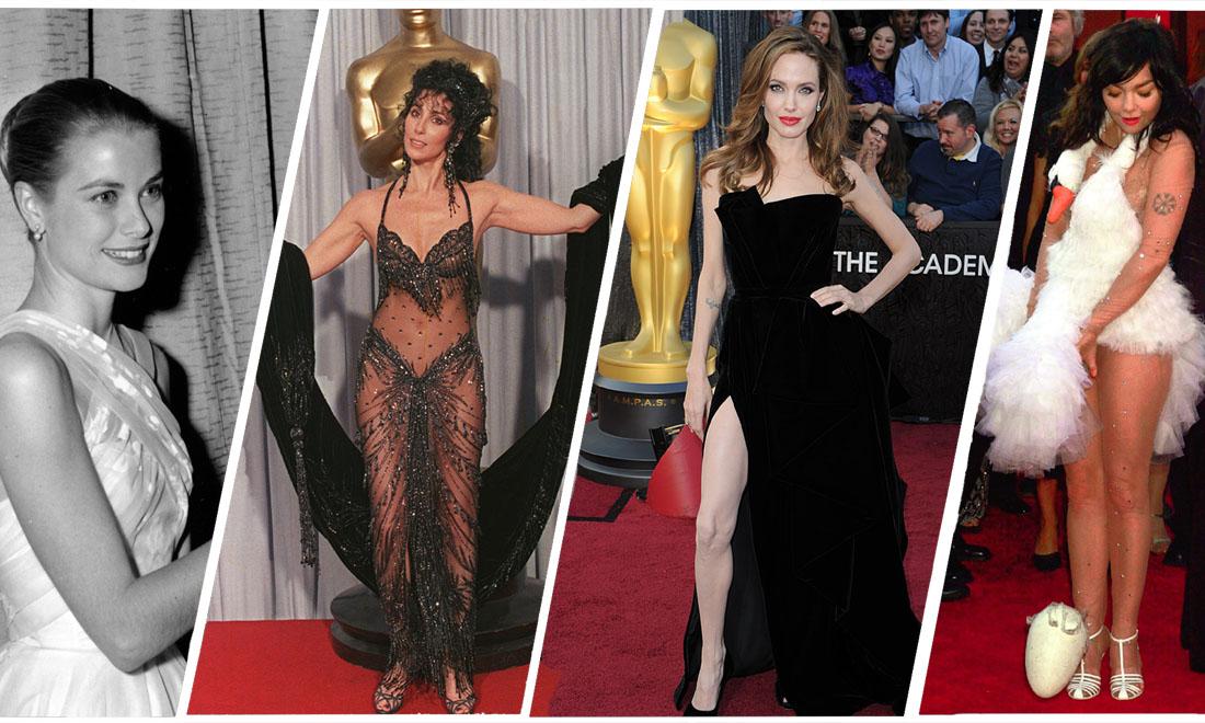 Los looks más icónicos de la historia de los Oscar