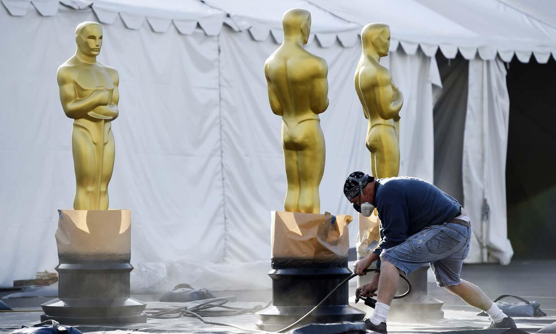 Luces, cámara... y últimos preparativos para la acción en la gran gala de los Oscar