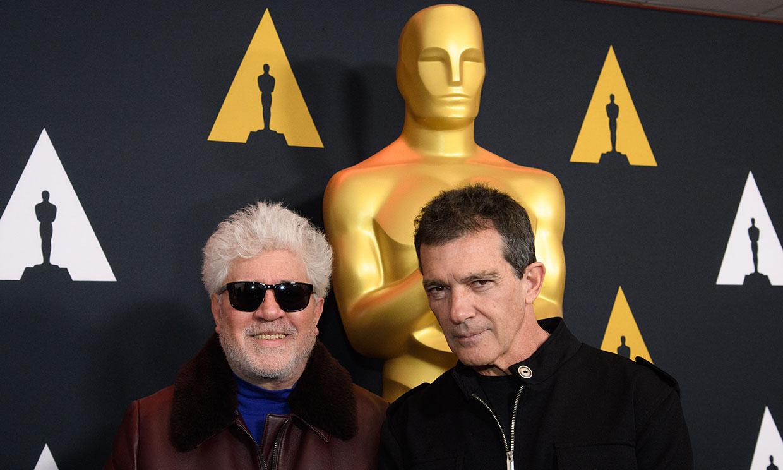 Antonio Banderas, 'sin discurso' y Almodóvar, 'más tranquilo que nunca' en la recta final de los Oscar